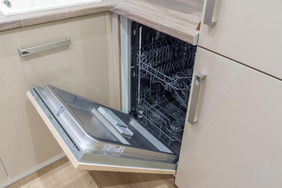 Бежевые кухни-Кухня из пластика «Модель 1»-фото8