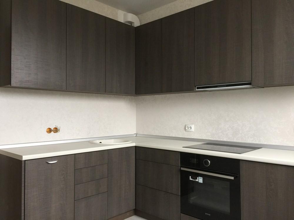 Акриловые кухни-Кухня из пластика «Модель 86»-фото3