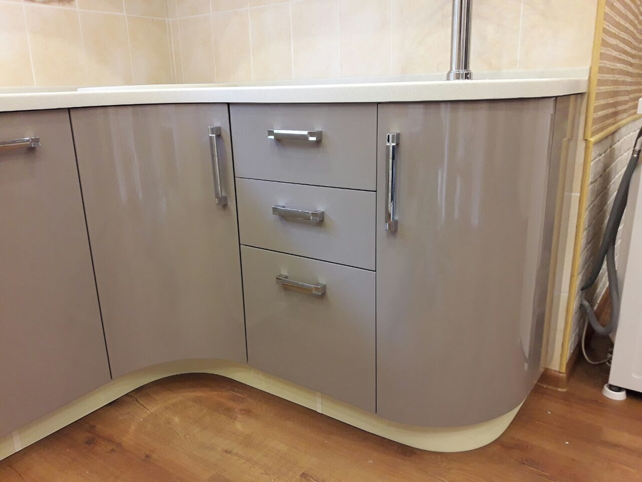 Белый кухонный гарнитур-Кухня «Модель 481»-фото5