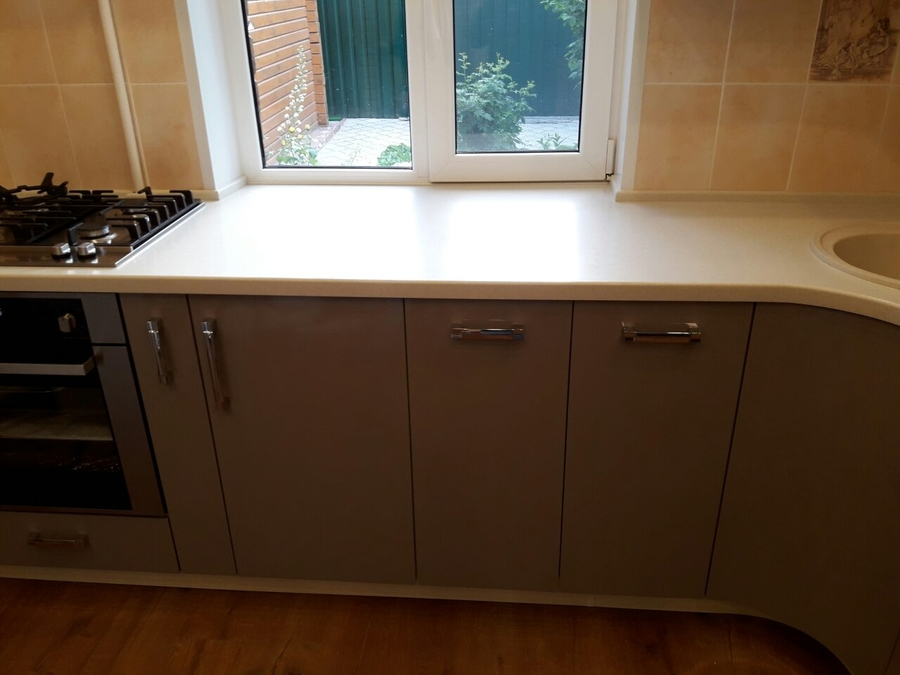 Белый кухонный гарнитур-Кухня «Модель 481»-фото3