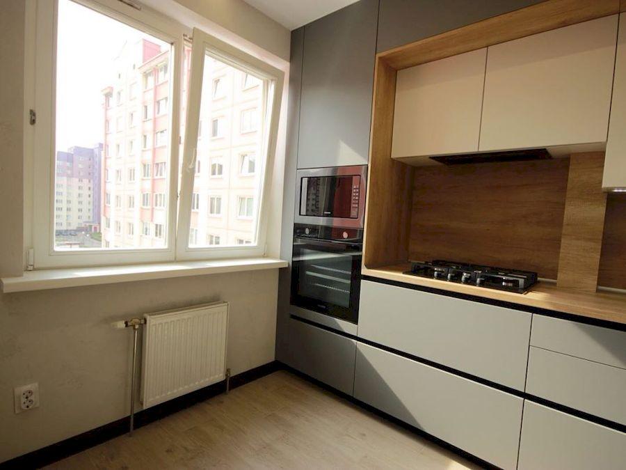 Встроенная кухня-Кухня МДФ в эмали «Модель 662»-фото6