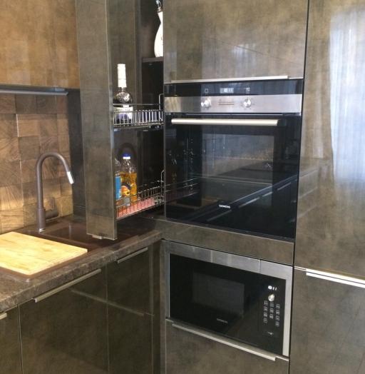-Кухня из пластика «Модель 113»-фото9