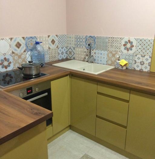 -Кухня МДФ в эмали «Модель 90»-фото13
