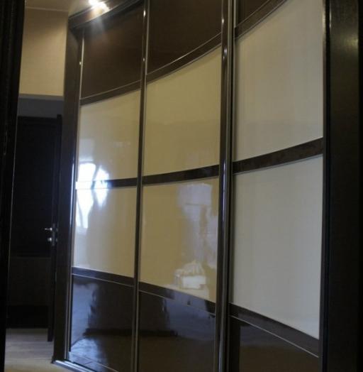 Бельевой шкаф-купе-Шкаф-купе из пластика «Модель 323»-фото6