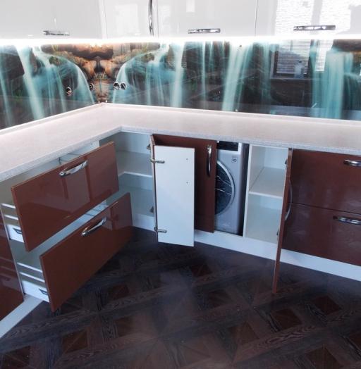 -Кухня из шпона «Модель 14»-фото5