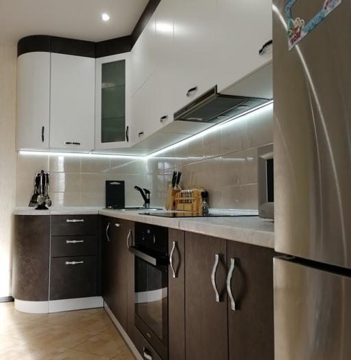 -Кухня МДФ в ПВХ «Модель 27»-фото21