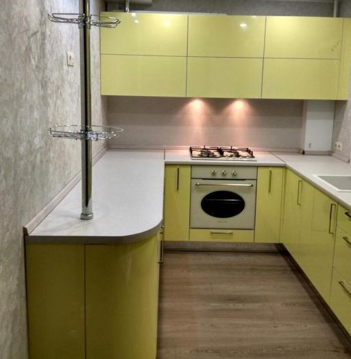 -Кухня МДФ в эмали «Модель 163»-фото22
