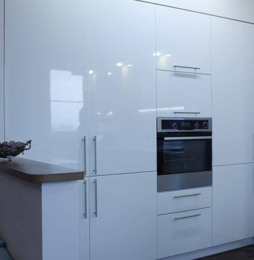 -Кухня МДФ в эмали «Модель 200»-фото26