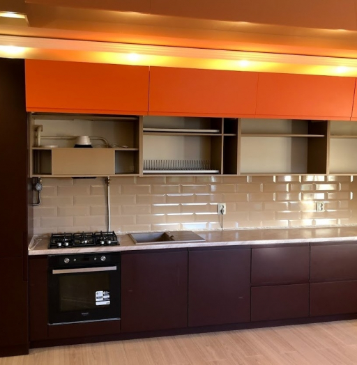 -Кухня МДФ в эмали «Модель 571»-фото3