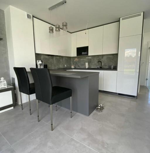Белый кухонный гарнитур-Кухня МДФ в эмали «Модель 627»-фото7